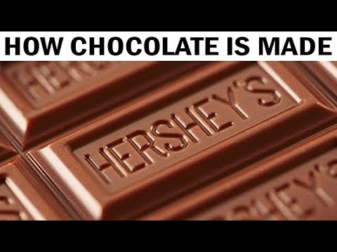 How Hershey's Milk Chocolate Is Made | 1970s Documentary Film