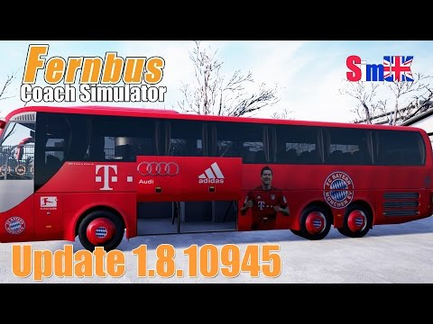 1.8.10945 Review + FC Bayern Munich Team Coach - Frankfurt Arpt to Munich (FCS)