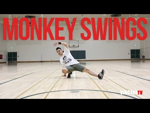 How to Breakdance | Monkey Swings | Footwork for Beginners