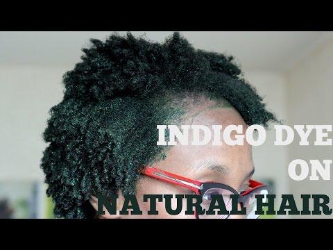 DYE YOUR NATURAL HAIR JET BLACK : HENNA & INDIGO !