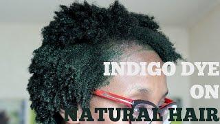 dye your natural hair jet black henna indigo
