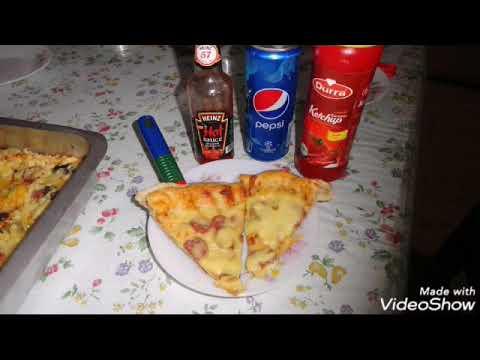 صورة  طريقة عمل البيتزا احلى واجمل طريقه لعمل البيتزا طريقة عمل البيتزا من يوتيوب