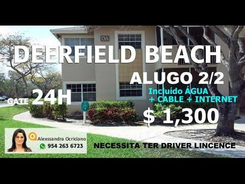 Aluguel de Apartamentos em Deerfield Beach Pompano Beach Florida EUA