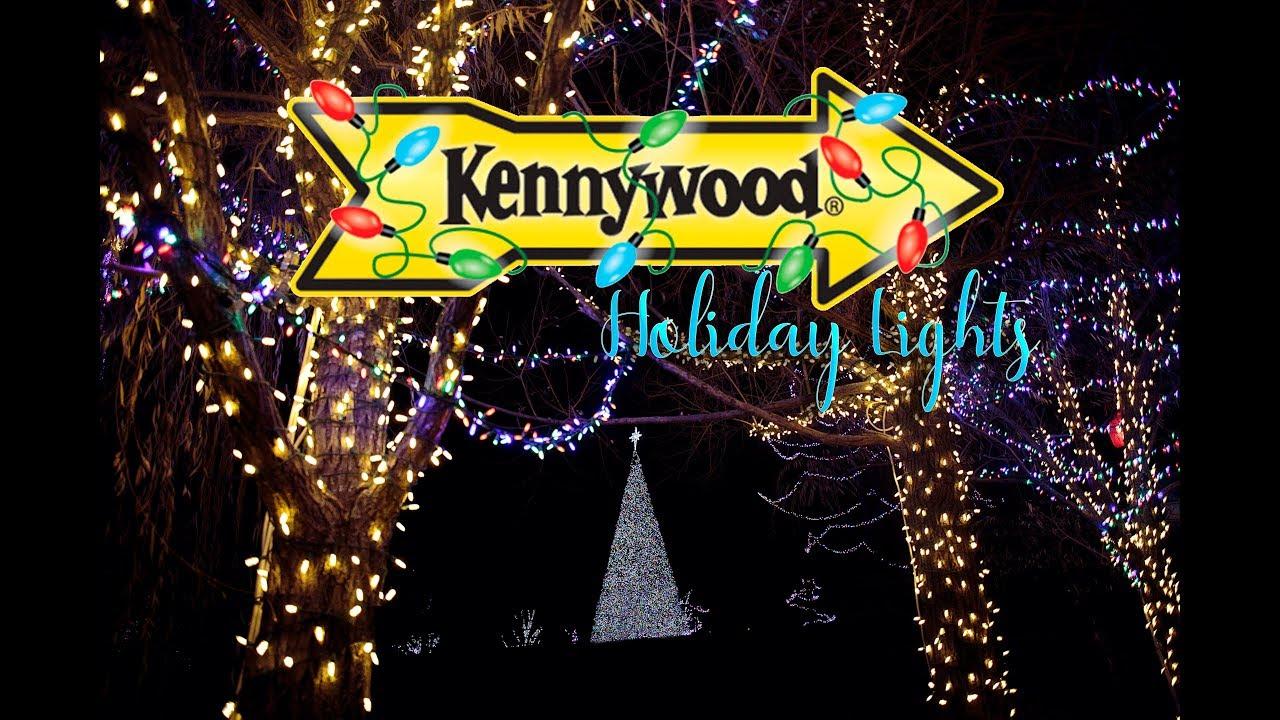 Kennywood Christmas.Kennywood Holiday Lights 2017 Park Footage