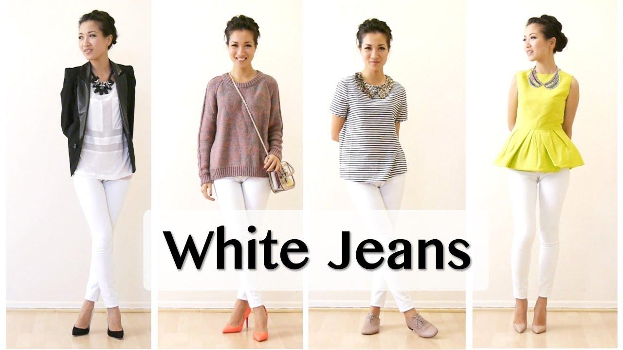 White Jean Pairings - YouTube