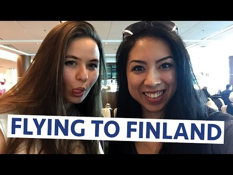 VLOG #132: Flying to Helsinki, Finland - April 16, 2016 | Erica Joaquin
