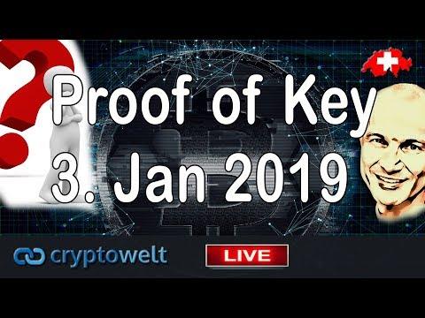 "Krypto Börsen Test - Was ist ""Proof of Keys"" vom 3. Januar 2019?"