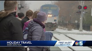 Numbers bump up at Amtrak for Thanksgiving travels