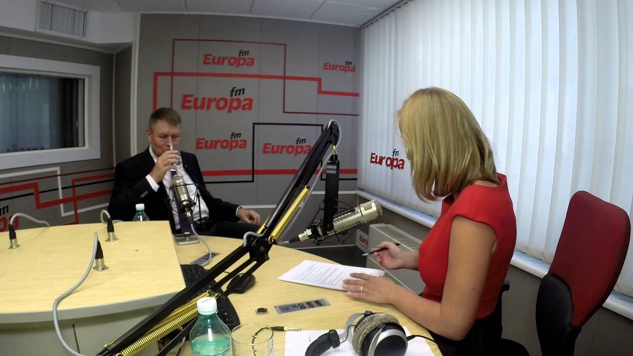 Klaus Iohannis la Interviurile Europa FM - Interviul complet