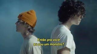Shawn Mendes, Justin Bieber - Monster (Tradução) [Clipe Oficial] (Legendado)