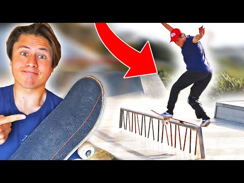 FEET-BOARDING AT THE SKATEPARK!