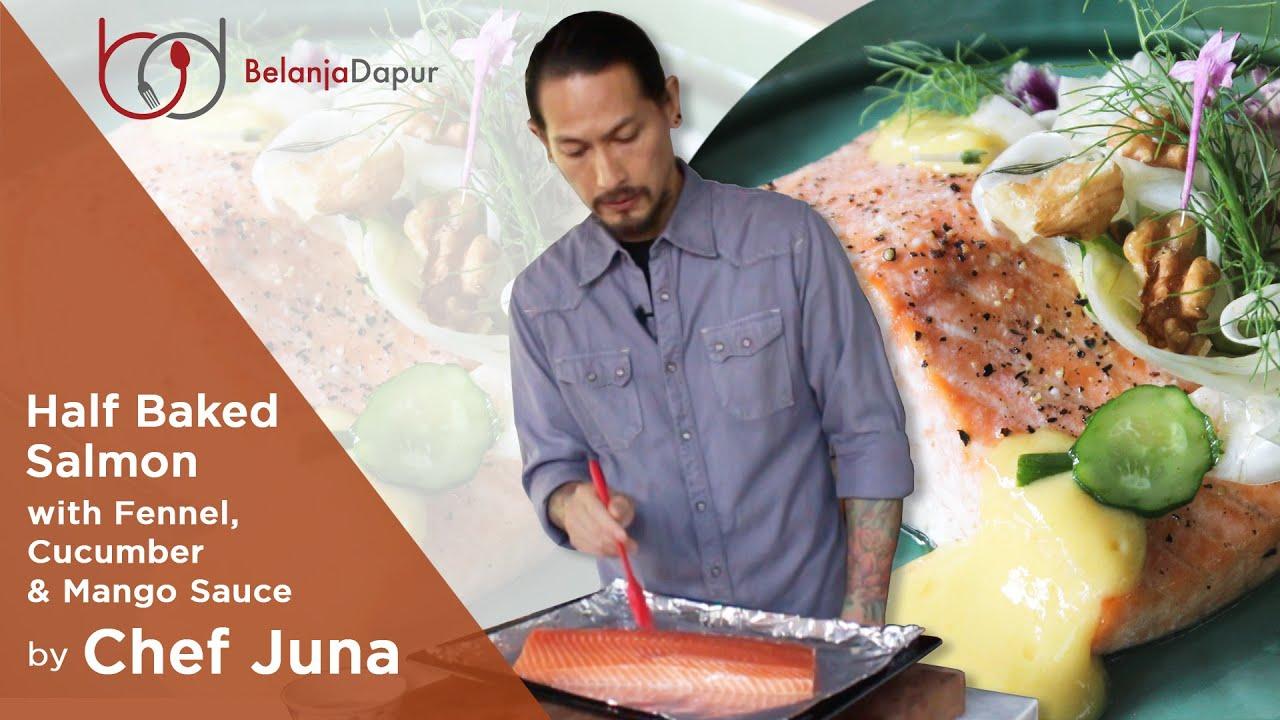 Salmon Chef Juna dihiasi Bunga-Bunga Cantik, Masak Buat Siapa Sih?