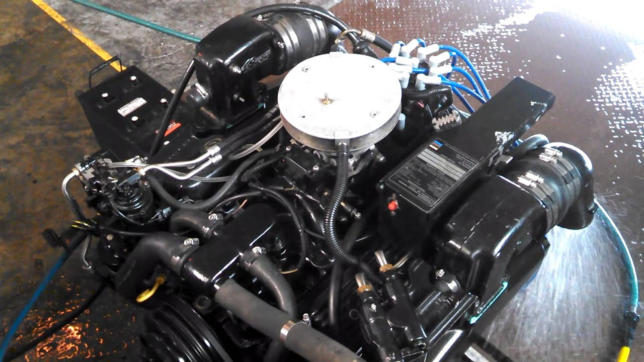 Fresh Build 330 Hp Vortec 5 7 Mercruiser Magnum