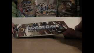 Pokemon Frost Ray Theme Deck Opening and Magic?