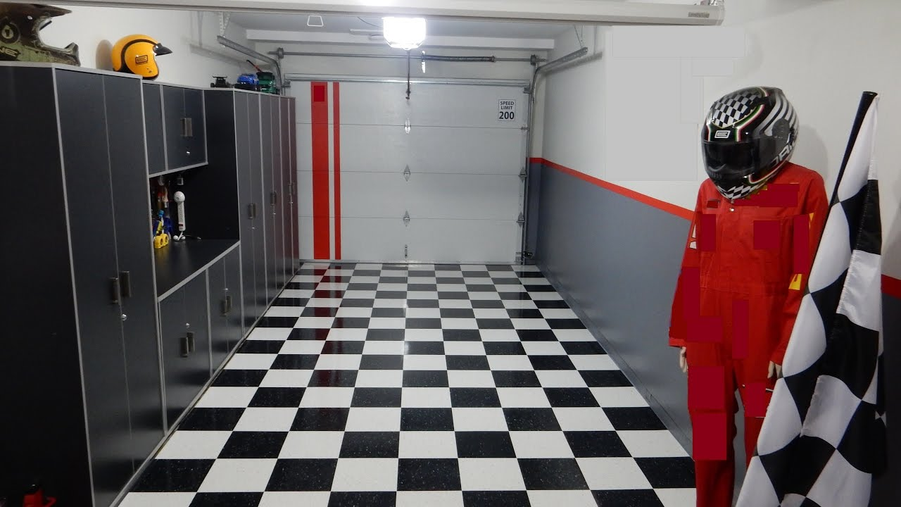 Garage floor vct tiles after 6 months youtube garage floor vct tiles after 6 months dailygadgetfo Image collections
