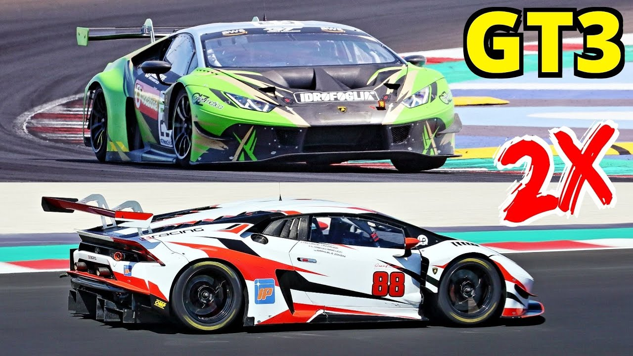 Lamborghini Huracán GT3 EVO Test Days at Misano Circuit, Kateyama, 5.2-Litre V10 N/A Engine 字幕付きの動画