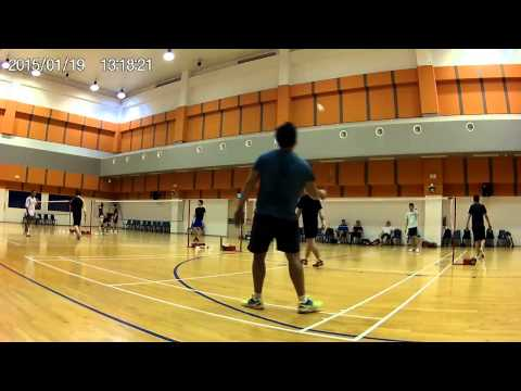 19/01/15 Game 4 Kelvin Cheng/Ryan Choo vs Shawn Wong/ Edward Cheah