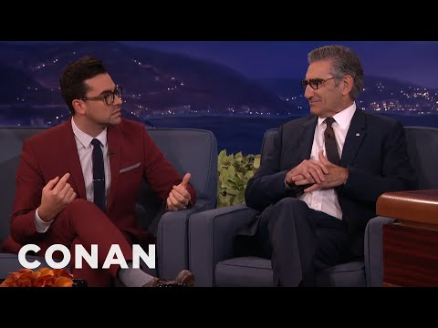 "Dan Levy: My Dad Is A ""Dance Mom"" Of Sex   CONAN on TBS"