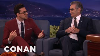 "Dan Levy: My Dad Is A ""Dance Mom"" Of Sex  - CONAN on TBS"