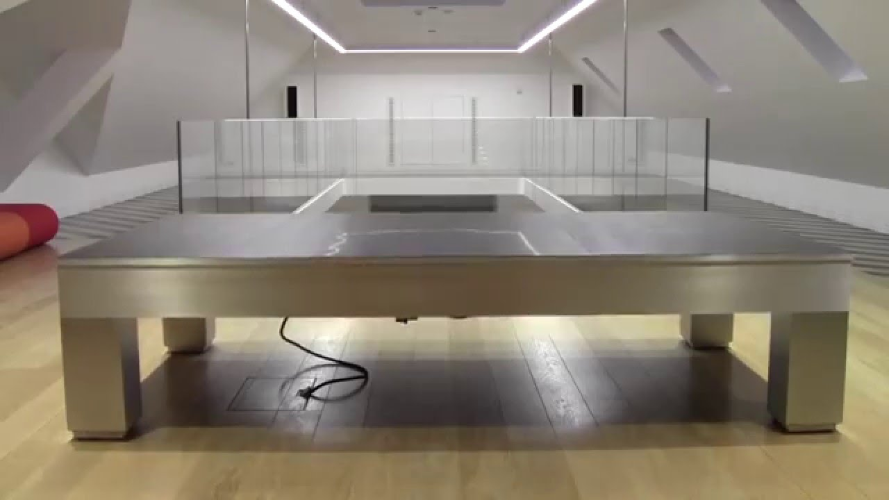 Apex - Pneumatic Coffee / Pool table - YouTube