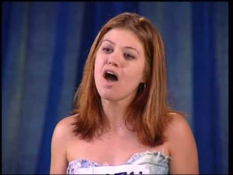 AMERICAN IDOL SEASON 1 - KELLY CLARKSON'S AUDITION