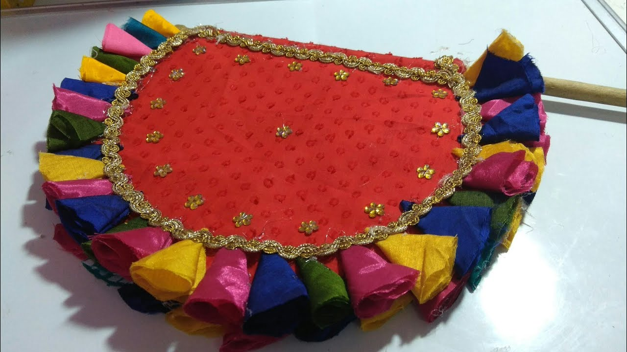 Image result for hand fan from waste aata bag