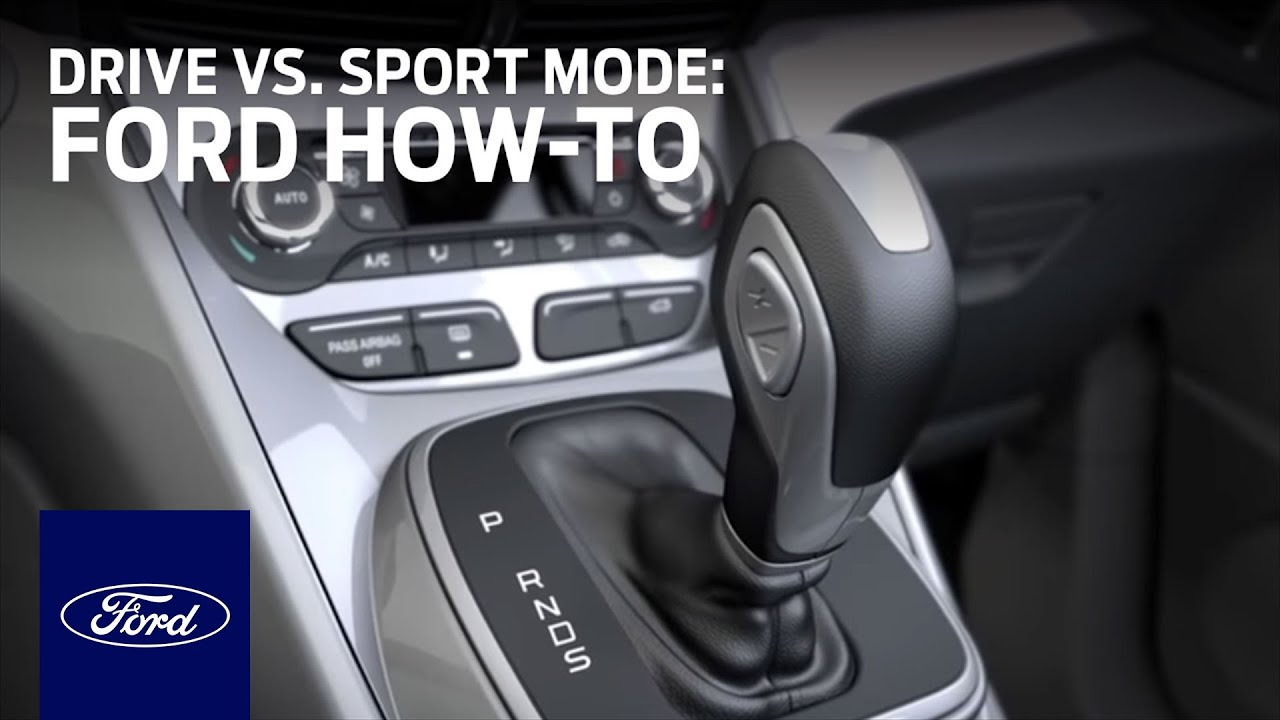 Drive Vs Sport Mode Ford How To Ford Youtube