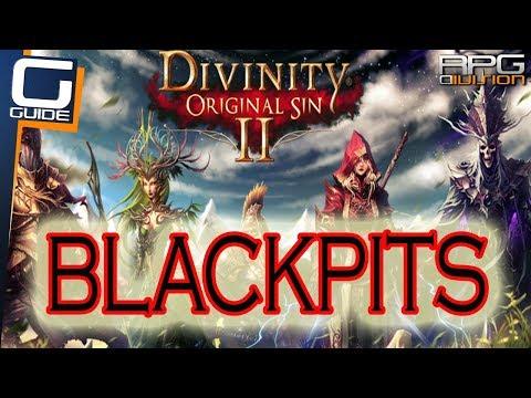 DIVINITY ORIGINAL SIN 2 - Blackpits Walkthrough (Pillar Puzzle, Damaged Oil Pump, Boss Fight, Traps)