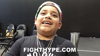 ANDY RUIZ SON REACTS TO BEATING CHRIS ARREOLA & GETTING DROPPED; SAYS DAD EYEING TYSON FURY'S TITLE