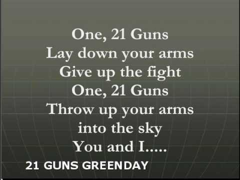 21 guns new version lyrics