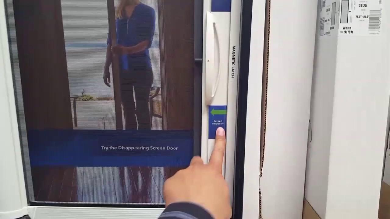 Costco Genis Retractable Screen Door 99 Youtube