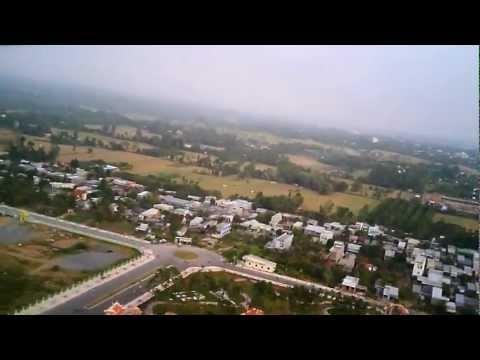 Lăng Cụ Phó Bảng Nguyễn Sinh Sắc nhìn từ trên cao