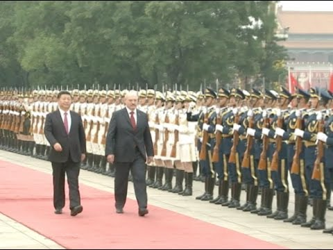 China Holds Grand Welcome Ceremony for Belarusian President