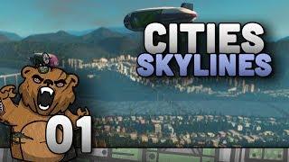 Ilhas, montanhas e rios! | Cities Skylines #01 - Gameplay Português PT-BR
