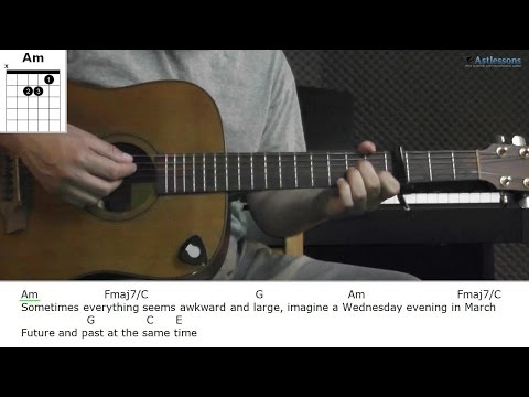 How to play You Don't Know with Milow (Guitar lesson)