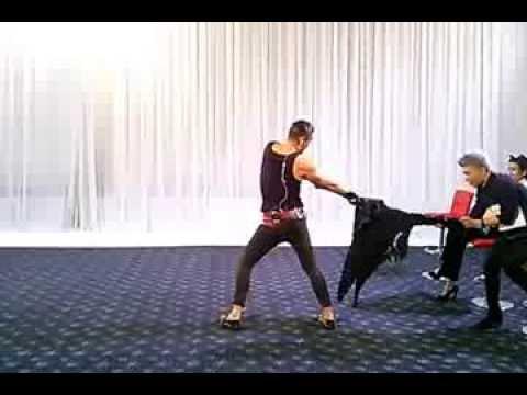 Giám khảo Adam, thí sinh Next Top nhảy với nhạc Gentleman