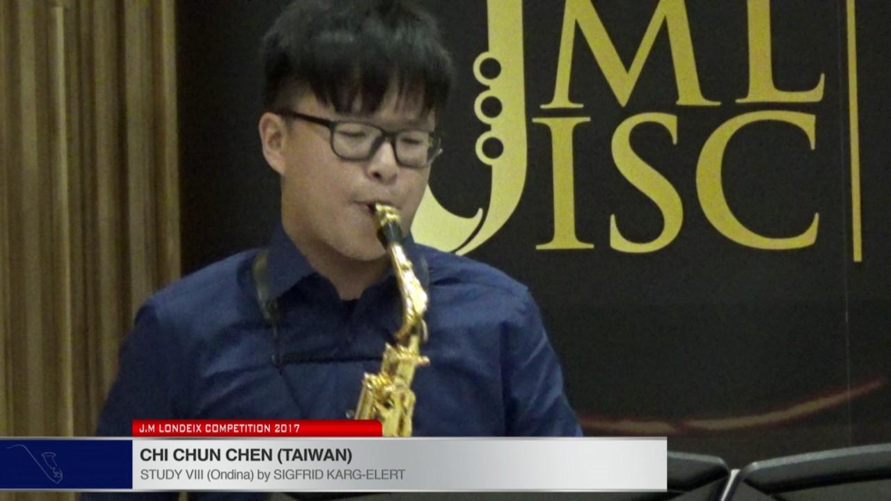 Londeix 2017 - Chi Chun Chen (Taiwan) - XIII In Modo Misolidio by Sigfrid Karg Elert