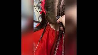 Красиво заплести АФРОКОСИЧКИ на БРЕЙДЫ в Броварах Braiding hair Салон красоты La Familia salon