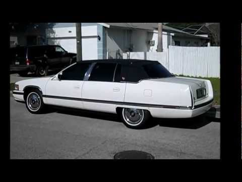 My 1994 Cadillac Deville Concours - YouTube