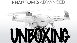 Unboxing Phantom 3 Advance en español.