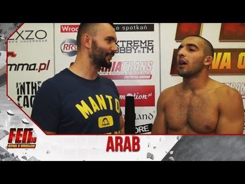 """Arab po FEN 19: """"Dzięki Ruby, że nie umiesz się bić"""""""