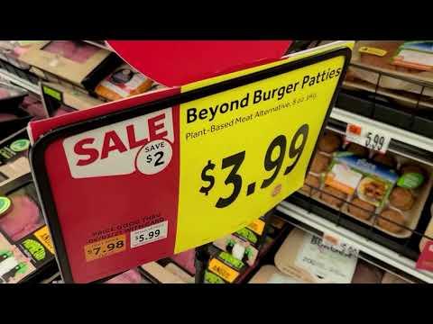 Beyond Meat shares sliced after sales warning