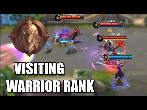 VISITING WARRIOR RANK WITH ALUCARD