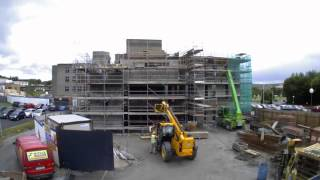 Letterkenny General Hospital Medical Research Academy (Time lapse) - Boyle Construction