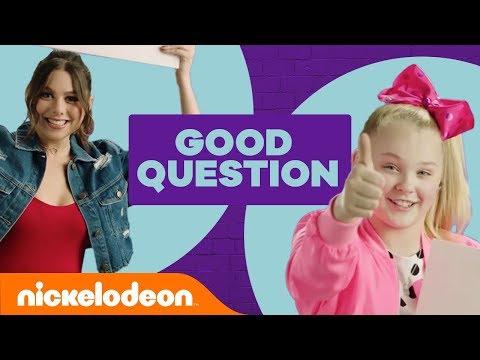 How Well Do You Know JoJo Siwa & Kira Kosarin? 🎀   Good Question   #NickStarsIRL