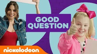 How Well Do You Know JoJo Siwa & Kira Kosarin? 🎀 | Good Question | #NickStarsIRL