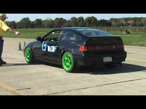Jdmcrx88s 89 Honda Crx Si Modified Scca Autox Warminster 101109