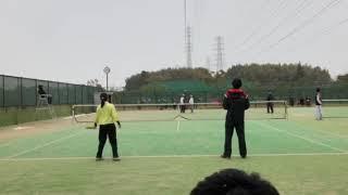 清原翔徳(長崎)林弥生(大阪) 2 vs 勢田萌乃(大阪)小倉康裕(京府) 0.