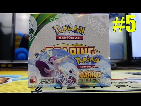 XY Roaring Skies #5 - Pokemon Booster Box opening - All 36 Booster Packs!