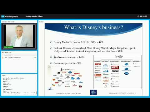 Entertainment industry Part 3: The Walt Disney Company (DIS) fundamental analysis